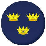 Munster Province Flag 25mm Pin Button Badge